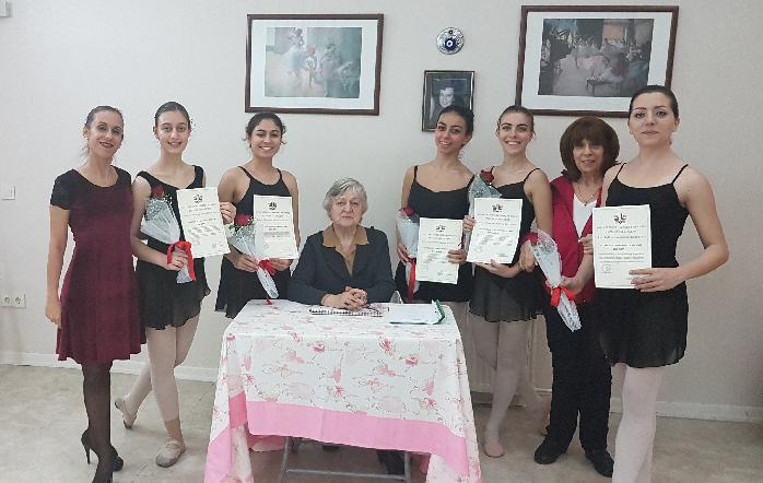 Sofya Üniversitesi Vaganova Sınavlarına giren 169 öğrencimiz %100 başarıyla sertifika almaya hak kazanmışlardır. Üniversitenin Bale Bölüm başkanı Prof.Kalina Bogoeva tarafından yapılan sınavlarda öğrencilerimiz büyük bir azim göstererek bir kez daha okulumuz ve aileleri için kurur kaynağı oldular.